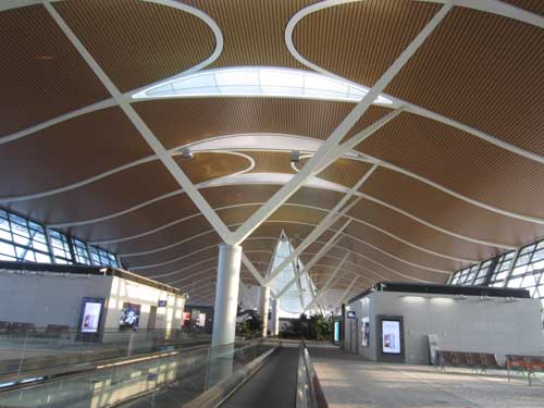 Shanghai Pudong's growth has made it one of the largest airports in the world.