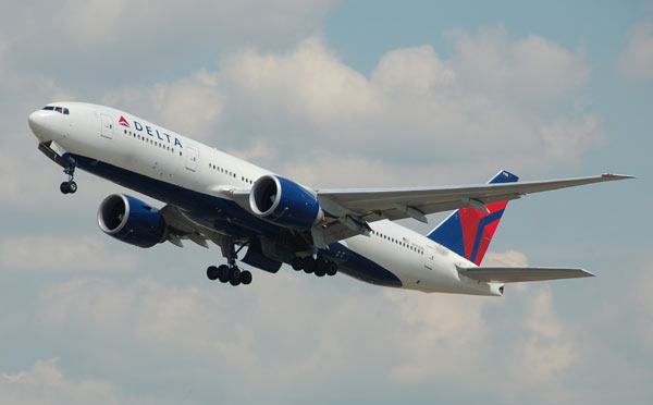 Delta Air Lines is the second largest carrier globally.