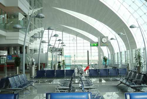 DXB has the most international passenger traffic in the world.