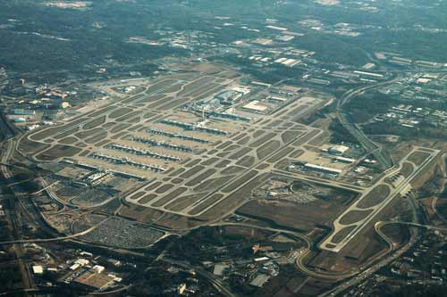 Hartsfield-Jackson, GA is the busiest airport in the world.