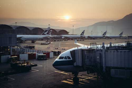 HKG sees heavy passenger traffic every year.