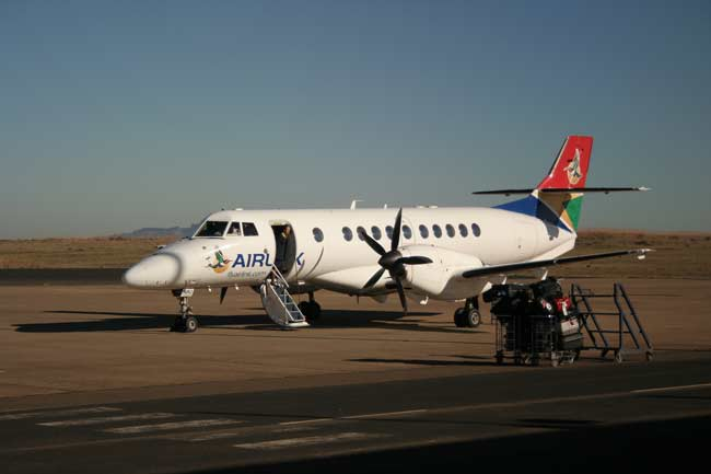 Moshoeshoe Airport is one of the smallest in the world.