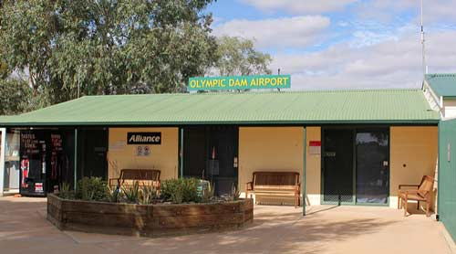 Olympic Dam airport is the smallest in Australia.