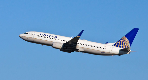 United Airlines is one of the largest airlines in the world.