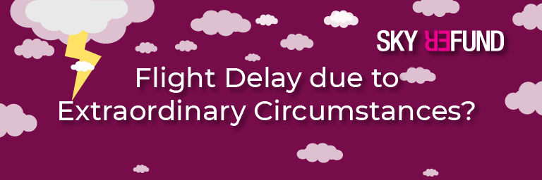 Passengers cannot claim compensation if their delay was caused by bad weather or a strike.