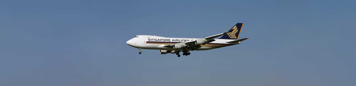 Claim flight delay compensation from Singapore Airliens